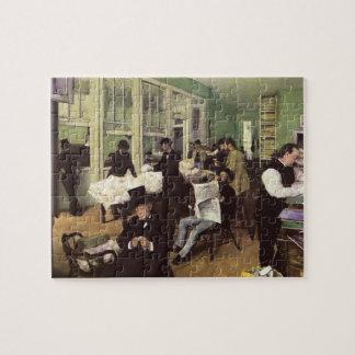 Puzzle Marché de coton à la Nouvelle-Orléans par Edgar