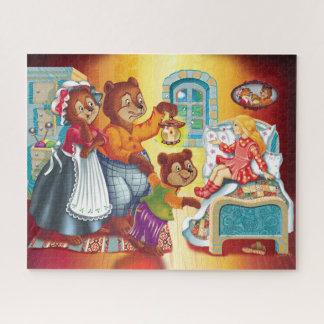Puzzle Masha et 3 ours