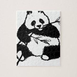 Puzzle Mastication du panda