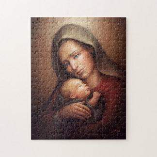 Puzzle Maternité divine