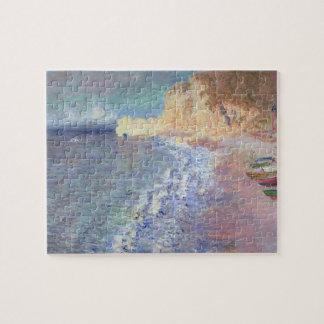 Puzzle Matin de Claude Monet | chez Etretat