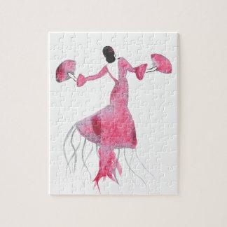 Puzzle Méduses de flamenco - Sabrina