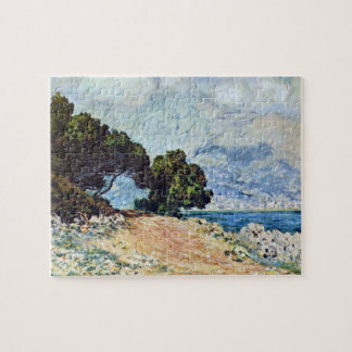 Puzzle Menton vu du casquette Martin par Claude Monet