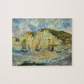 Puzzle Mer et falaises par Pierre Renoir, beaux-arts