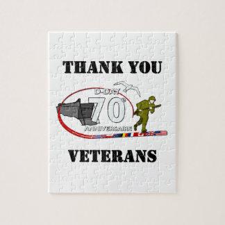 Puzzle Merci vétérans - Thank you veterans