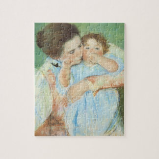 Puzzle Mère et enfant par Mary Cassatt, beaux-arts