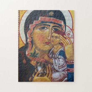 Puzzle Mère Mary et art de Jésus