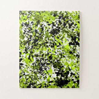 Puzzle Microgreens vert et noir
