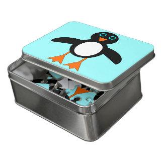Puzzle mignon d'acrylique de pingouin