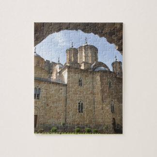 Puzzle Monastère en Serbie