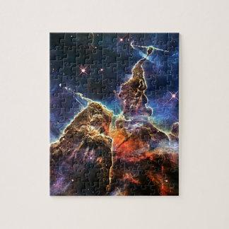 Puzzle Montagne mystique dans la NASA de l'espace