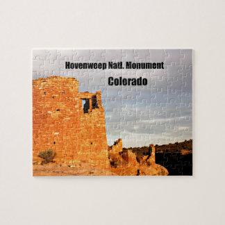 Puzzle Monument national de Hovenweep, Co