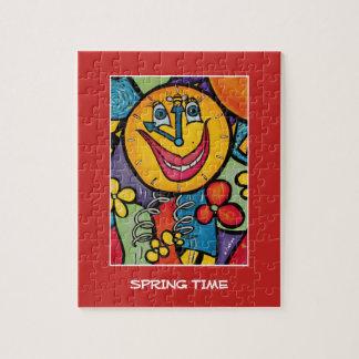Puzzle Morceaux de printemps