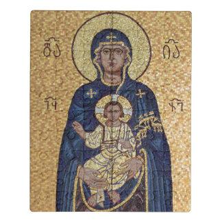 Puzzle Mosaïque de Mary et de Jésus