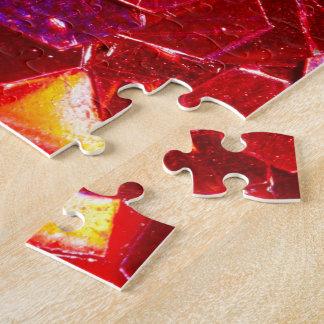 Puzzle Motif brillant de parties scintillantes de