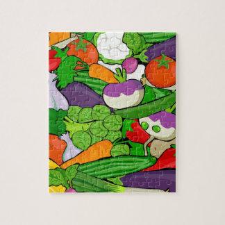 Puzzle Motif végétal