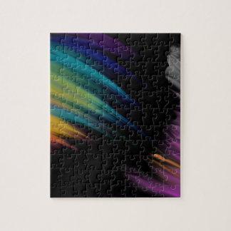 Puzzle mouvement de couleur