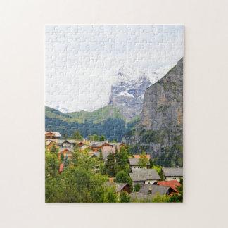 Puzzle Murren en Suisse