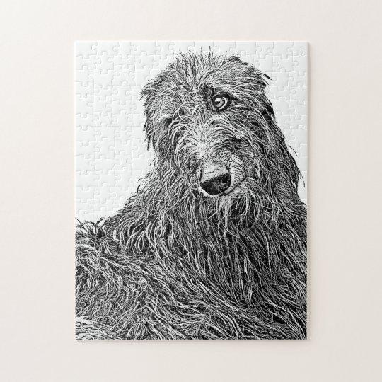 Puzzle My dear hound