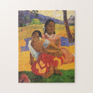 "Puzzle ""Nafea Faa Ipoipo"" - Paul Gauguin"