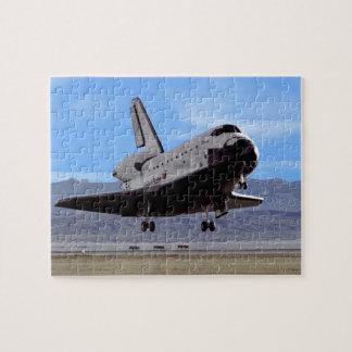 Puzzle Navette spatiale de la NASA l'Atlantide débarquant