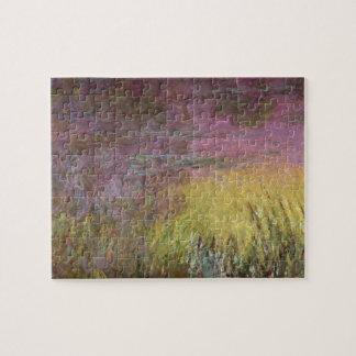 Puzzle Nénuphars de Claude Monet | au coucher du soleil