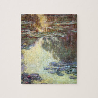 Puzzle Nénuphars par Claude Monet, beaux-arts vintages