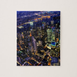 Puzzle New York City, Manhattan, paysage urbain des