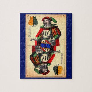 Puzzle No. du 19ème siècle 1 de carte de tarot