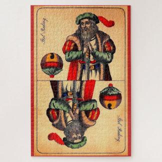 Puzzle No. du 19ème siècle 2 de carte de tarot
