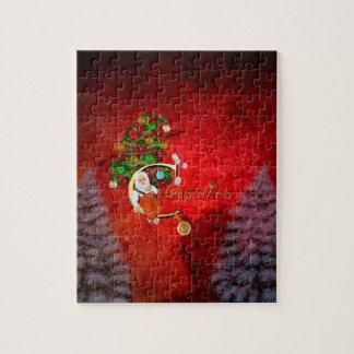 Puzzle Noël, le père noël