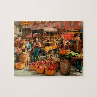 Puzzle Nourriture - légumes - marché 1908 d'Indianapolis