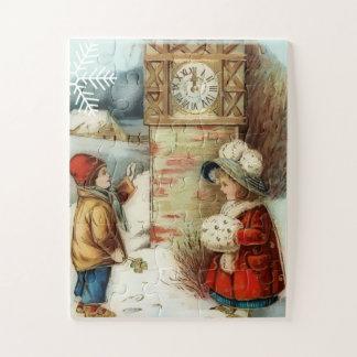 Puzzle Nouvelle année norvégienne vintage
