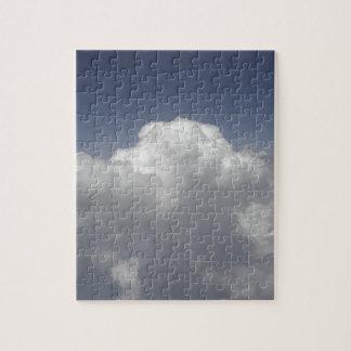 Puzzle Nuages à 30.000 pieds d'une fenêtre d'avion
