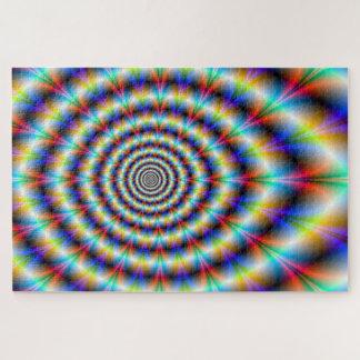 Puzzle Oeil psychédélique