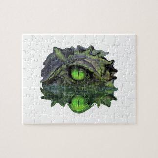 Puzzle Oeil reptile