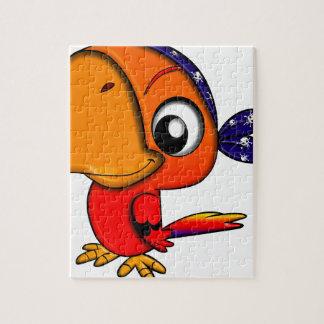 Puzzle Oiseau énorme de bande dessinée de bec