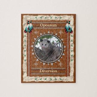 Puzzle Opossum - casse-tête de déviation avec la boîte