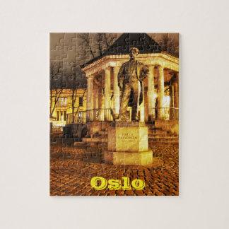 Puzzle Oslo, Norvège la nuit