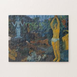 """Puzzle """"Où faites nous venons de ?"""" - Paul Gauguin"""