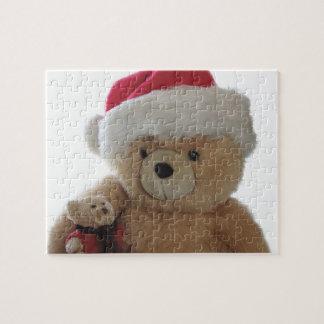 Puzzle Ours de Père Noël avec peu d'ours