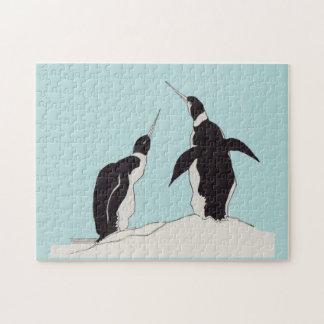 Puzzle paires de pingouins