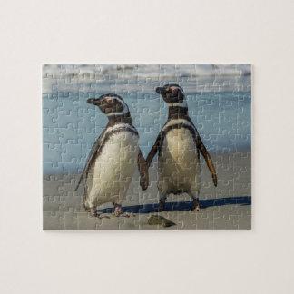 Puzzle Paires de pingouins sur la plage