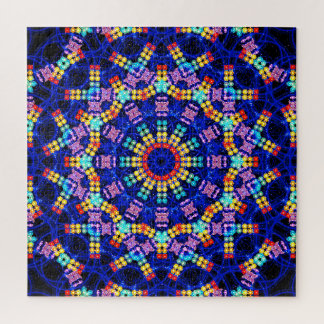 Puzzle Paix colorée
