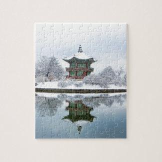 Puzzle palais d'Asiatique de gyeongbok