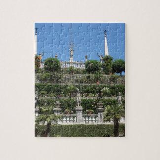 Puzzle Palais de Borromeo dans Stresa, Italie