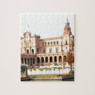 Puzzle palais sur la rivière