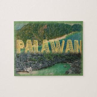 """Puzzle Palawan """"la meilleure île au monde """""""