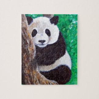 Puzzle Panda dans un arbre