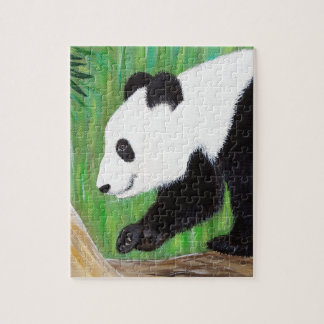 Puzzle Panda heureux